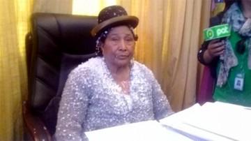 Hilaria Sejas suplirá a Bazán en la Alcaldía de Oruro