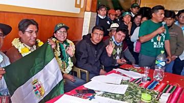 Partido de Patzi recolectó 70.500 firmas