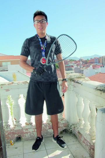 Raquet, la esperanza del oro
