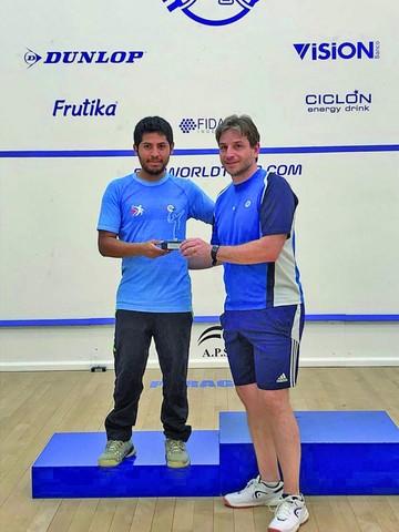 Capitalino, subcampeón sudamericano de squash