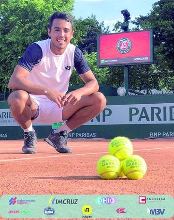 Dellien se estrena con un triunfo  en Roland Garros