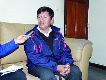 Límites: Mamani renuncia y culpa a Viceministro