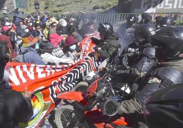 Universitario muere en medio de represión en El Alto