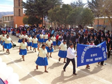 Fervor en los municipios 25 de Mayo, una celebración de todos