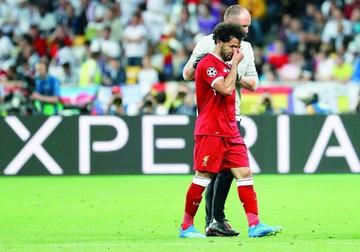 Egipcio Salah confía en que llegará recuperado a Rusia
