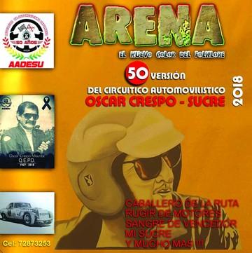 Presentan nueva canción para la ruta Oscar Crespo