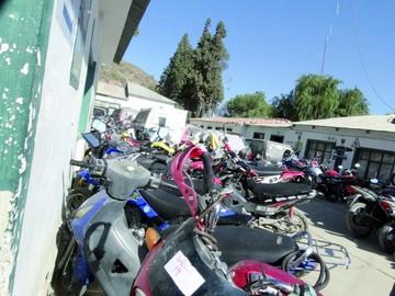 Caen dos adolescentes por robar cuatro motocicletas