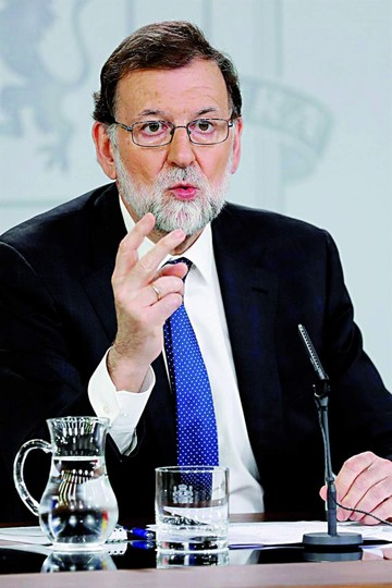 España: Debatirán censura contra Mariano Rajoy