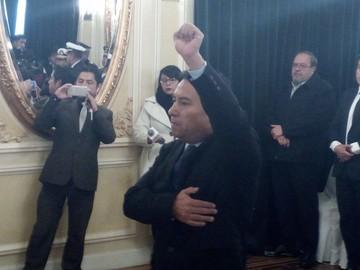 Rodolfo Rocabado es posesionado como nuevo Ministro de Salud