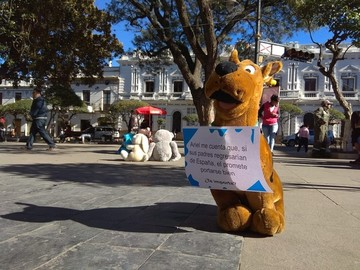 Campaña Me Importan llega a Sucre con mensajes sobre la niñez