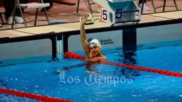 La sirena boliviana logra su tercera medalla de plata