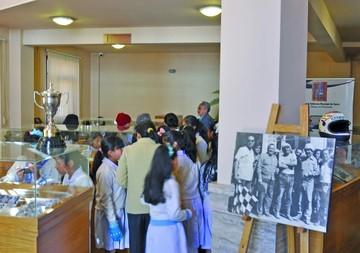 Exposición muestra inicio del Circuito Oscar Crespo