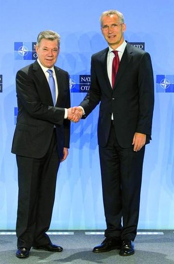 Colombia oficializa estatus de socio global de la OTAN