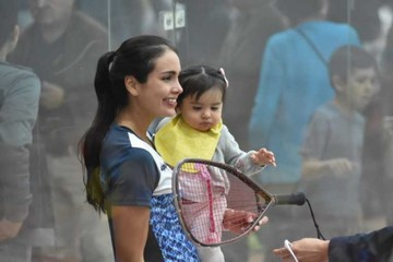 Raquetbolista boliviana gana oro para Argentina