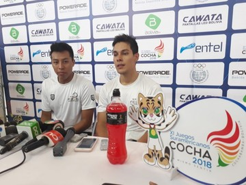 Moscoso y Keller logran la segunda presea dorada para Bolivia