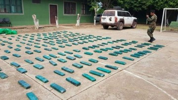 Santa Cruz: Decomisan 242 kilos de marihuana