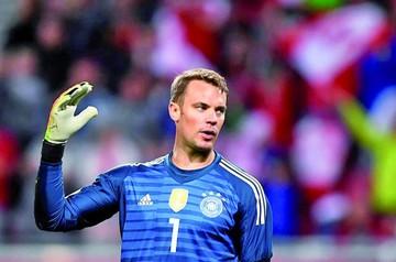 Neuer vuelve a las canchas pero Alemania pierde