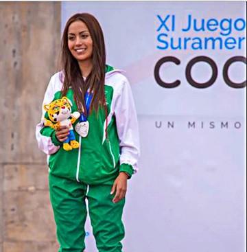 Boliviana Velasco obtiene medalla de plata