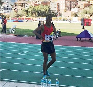 Odesur: Vidal Basco le da una plata a Bolivia en atletismo