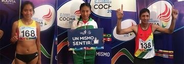 Atletas suman hoy más medallas para Bolivia