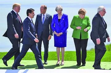 Cumbre del G7 augura una división con EE.UU.