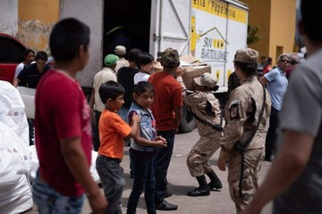Fuertes lahares bloquean asistencia en Guatemala