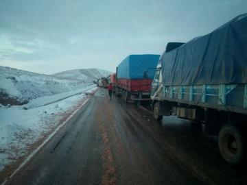 Vuelven a cerrar el tramo Cochabamba-Oruro por nevadas