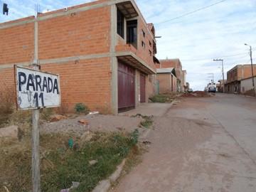 El barrio San Rafael se queja  por deficiencias en transporte