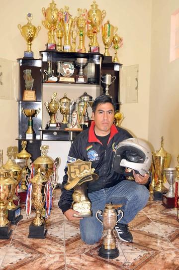 Rolando Rojas el piloto que sacó cara por Sucre en el 50º Oscar Crespo