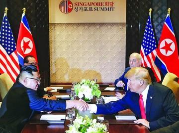 Trump y Kim comienzan nueva era de distensión