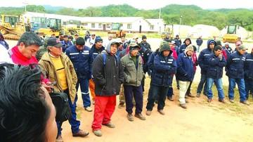 Diagonal: Obreros se ven sin apoyo y desmovilizados