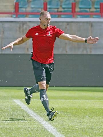 Argentino Pitana dirigirá el primer partido de la Copa
