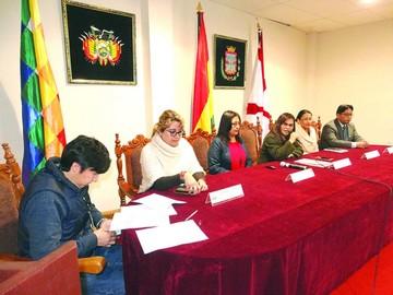 Eligen ideas para ejecutar proyectos en Chuquisaca