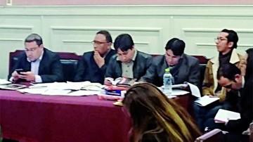 Jueces ebrios se defenderán en libertad en La Paz