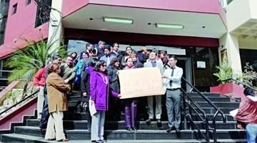 Cochabamba: Protestan por aprehensión de jueza