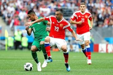 El Mundial está en marcha y Rusia toma ventaja con una goleada de 5-0 sobre Arabia