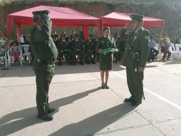 Batallón de Seguridad de la Policía cumplió 32 años