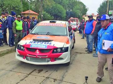 Carrera de Padilla arroja sorpresa  en primera etapa