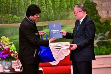 Cumbre Morales-Jinping cierra gira en suelo chino