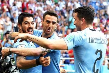 Suárez clasifica a Uruguay a octavos de final