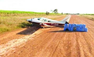 Brasil: Decomisan droga en avioneta que salió de Bolivia