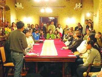 Vecinos se organizan para materializar sus demandas