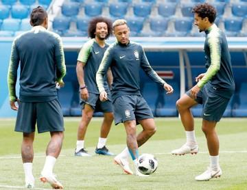 Brasil, a demostrar su chapa de favorito
