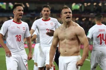 Xherdan Shaqiri da el triunfo a Suiza ante Serbia