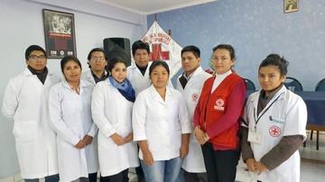 Centro de salud de la Cruz Roja cumplió tres años