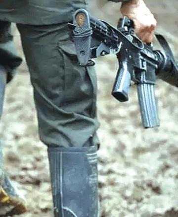 Procesan a brasileño por robo de armas