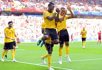 Bélgica se lo cree, vuelve a golear (5-2) y se anota en octavos