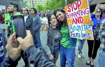 EEUU: Marchan en solidaridad con las familias de inmigrantes