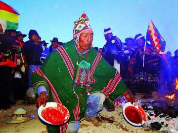 El Inti Raymi y el sol como deidad en los Andes de Bolivia