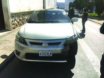 Otro policía provoca accidente de tránsito en estado de ebriedad